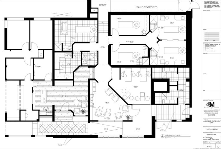 Estrimont Suites & Spa - Spa Plan