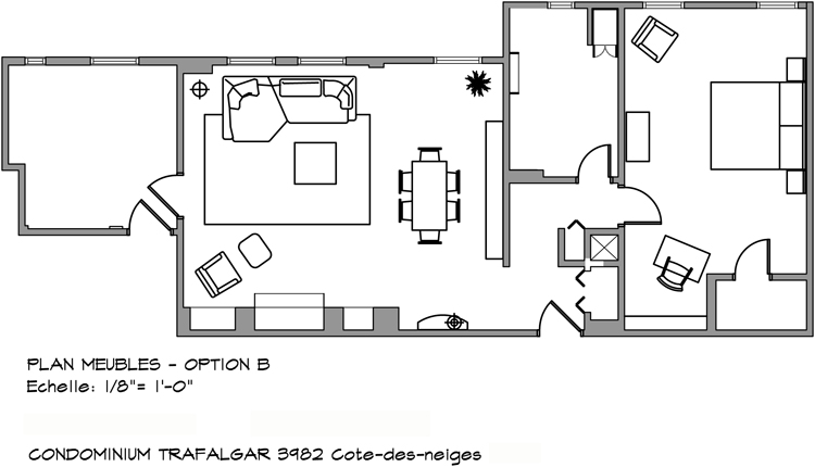 Trafalgar - Private Residence Plan