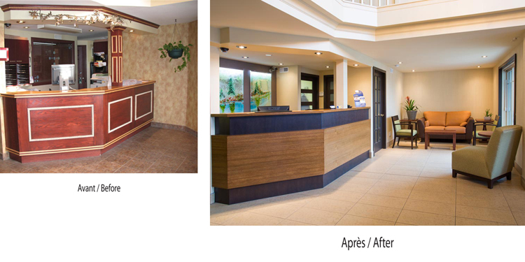 Hotel Best Western Plus - Before & After