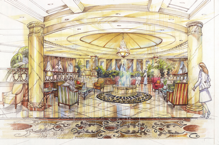 Hotel Lobby - Dubai