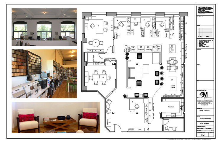 PMA Design Office Plan