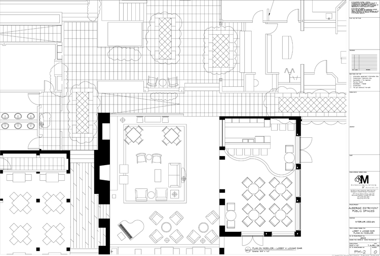 Estrimont Suites & Spa - Public Spaces Plan