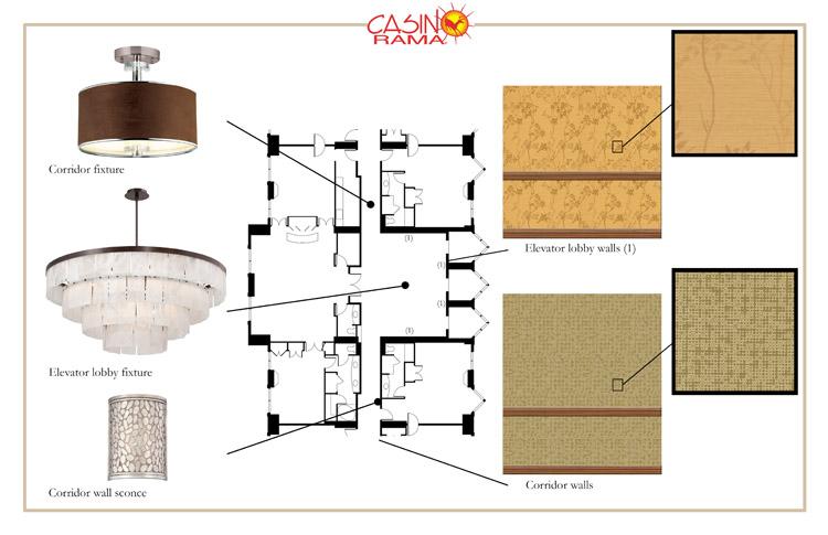 Casino Rama Resort - Corridors