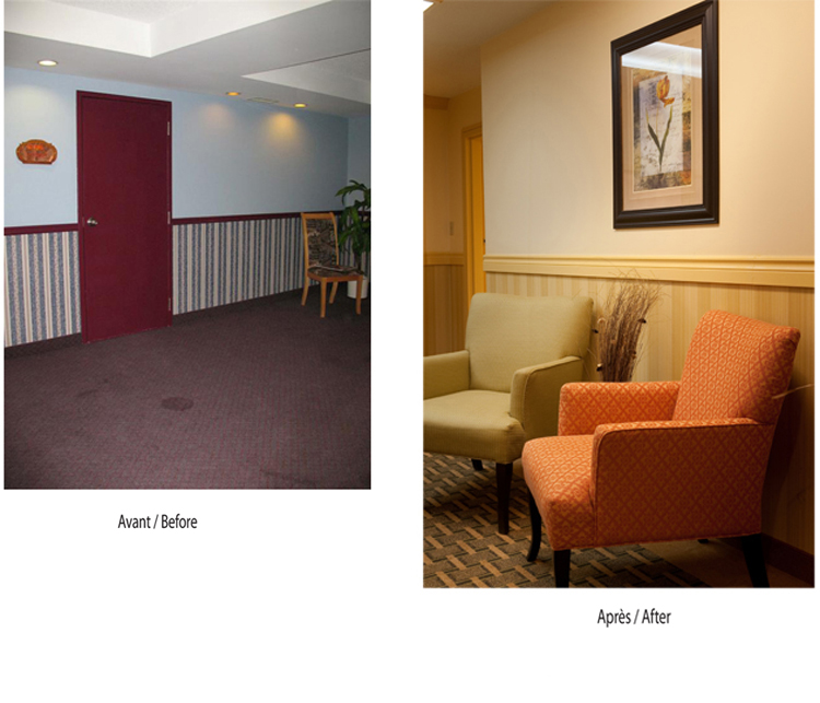 Best Western Plus - Before & After Corridors
