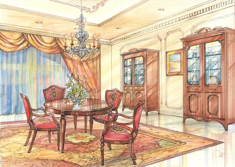 Hotel Dining Room - Dubai