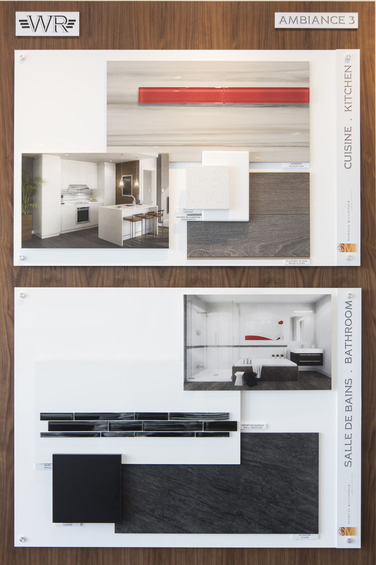 Groupe Montclair Showroom - Boards